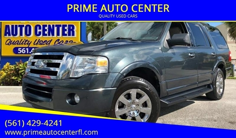 2009 Ford Expedition for sale at PRIME AUTO CENTER in Palm Springs FL