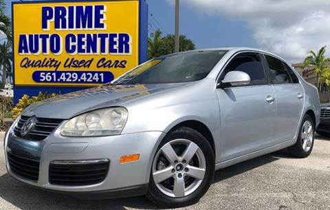 2008 Volkswagen Jetta for sale at PRIME AUTO CENTER in Palm Springs FL