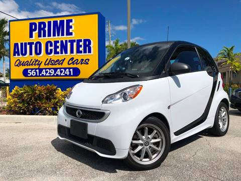 2015 Smart fortwo electric drive for sale at PRIME AUTO CENTER in Palm Springs FL