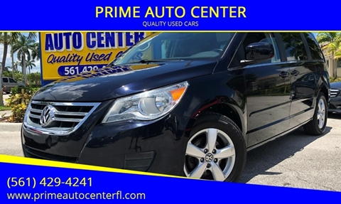 2009 Volkswagen Routan for sale at PRIME AUTO CENTER in Palm Springs FL