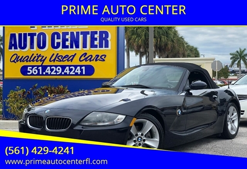 2007 BMW Z4 for sale at PRIME AUTO CENTER in Palm Springs FL