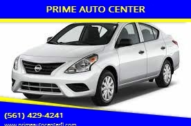 2014 Nissan Versa for sale at PRIME AUTO CENTER in Palm Springs FL