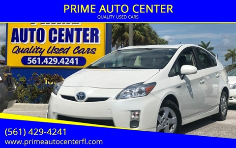 2010 Toyota Prius for sale at PRIME AUTO CENTER in Palm Springs FL