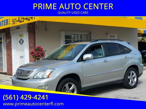 2006 Lexus RX 330 for sale at PRIME AUTO CENTER in Palm Springs FL