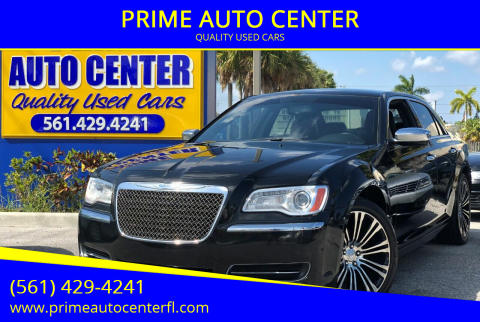 2013 Chrysler 300 for sale at PRIME AUTO CENTER in Palm Springs FL