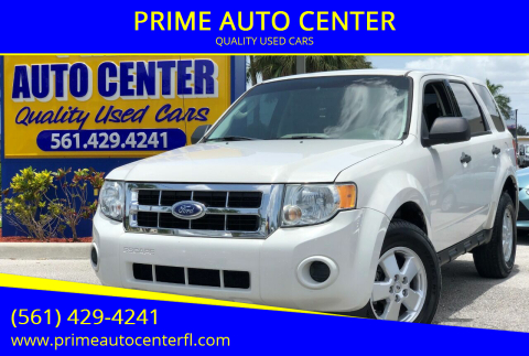 2011 Ford Escape for sale at PRIME AUTO CENTER in Palm Springs FL