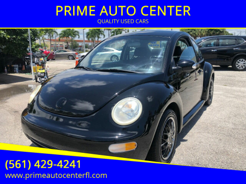 2005 Volkswagen New Beetle for sale at PRIME AUTO CENTER in Palm Springs FL