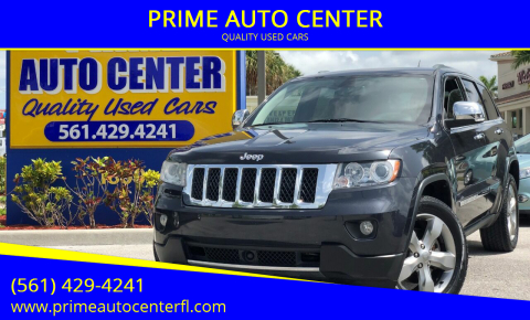 Jeep Grand Cherokee for sale at PRIME AUTO CENTER in Palm Springs FL