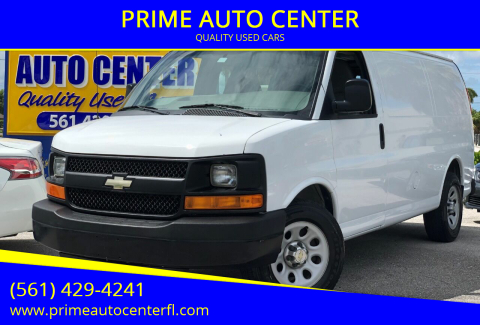 2014 Chevrolet Express Cargo for sale at PRIME AUTO CENTER in Palm Springs FL