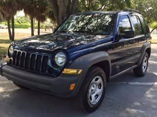 2005 Jeep Liberty for sale at PRIME AUTO CENTER in Palm Springs FL