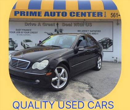 2004 Mercedes-Benz C-Class for sale at PRIME AUTO CENTER in Palm Springs FL