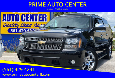 2011 Chevrolet Suburban for sale at PRIME AUTO CENTER in Palm Springs FL