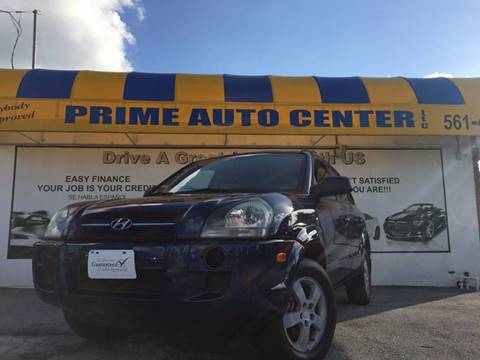 2006 Hyundai Tucson for sale at PRIME AUTO CENTER in Palm Springs FL