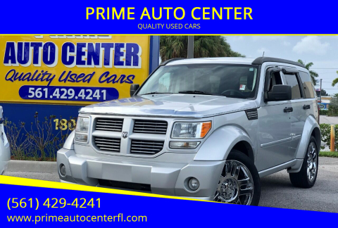 2007 Dodge Nitro for sale at PRIME AUTO CENTER in Palm Springs FL