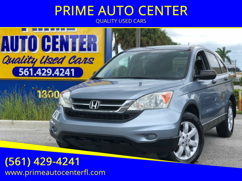 2011 Honda CR-V for sale at PRIME AUTO CENTER in Palm Springs FL
