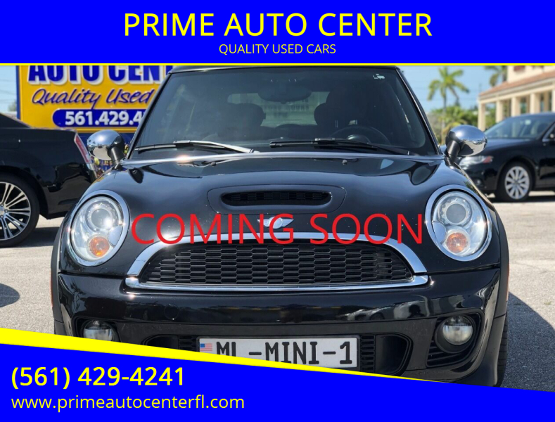 2012 MINI Cooper Hardtop for sale at PRIME AUTO CENTER in Palm Springs FL