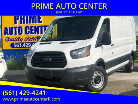 2017 Ford Transit Cargo for sale at PRIME AUTO CENTER in Palm Springs FL