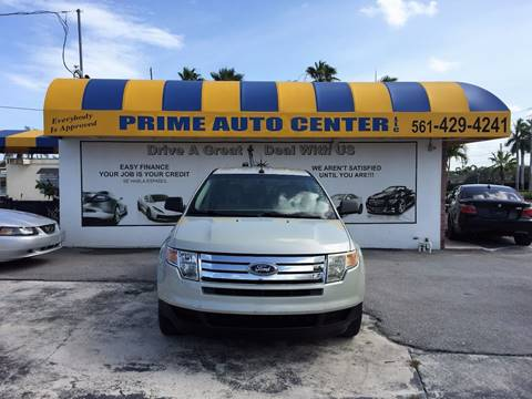 2007 Ford Edge for sale at PRIME AUTO CENTER in Palm Springs FL