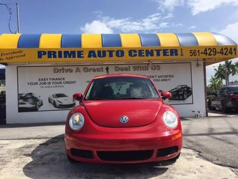 2006 Volkswagen New Beetle for sale at PRIME AUTO CENTER in Palm Springs FL