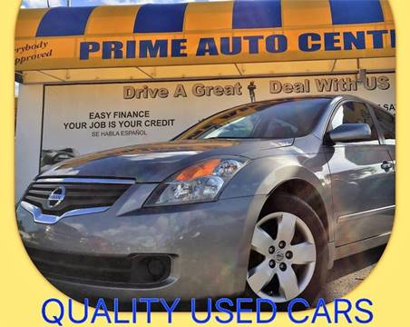 2007 Nissan Altima for sale at PRIME AUTO CENTER in Palm Springs FL