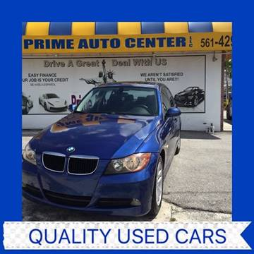 2007 BMW 3 Series for sale at PRIME AUTO CENTER in Palm Springs FL