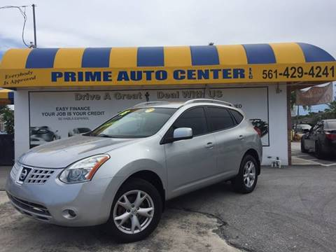 2008 Nissan Rogue for sale at PRIME AUTO CENTER in Palm Springs FL