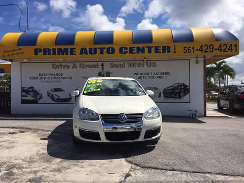 2008 Volkswagen Jetta for sale at PRIME AUTO CENTER in Palm Springs FL
