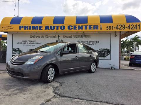 2007 Toyota Prius for sale at PRIME AUTO CENTER in Palm Springs FL
