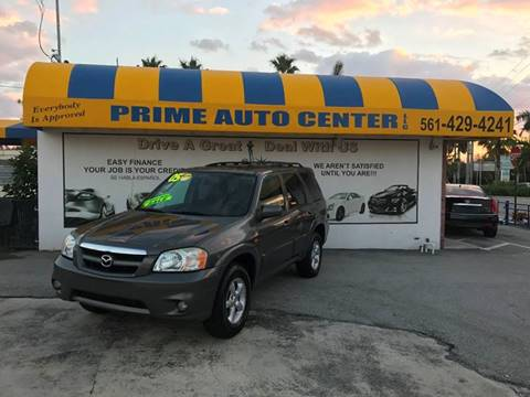 2005 Mazda Tribute for sale at PRIME AUTO CENTER in Palm Springs FL