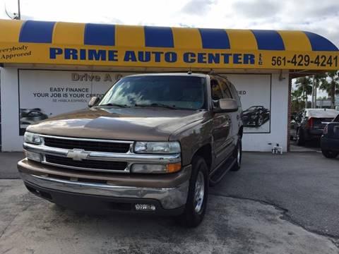 2003 Chevrolet Tahoe for sale in Palm Springs, FL