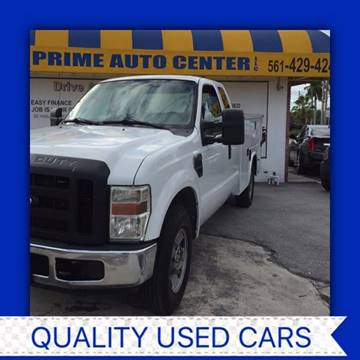 2008 Ford F-250 Super Duty for sale at PRIME AUTO CENTER in Palm Springs FL