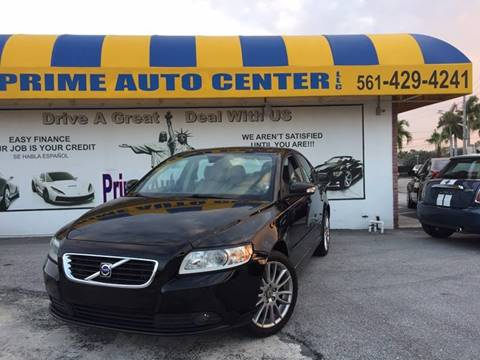 2009 Volvo S40 for sale at PRIME AUTO CENTER in Palm Springs FL
