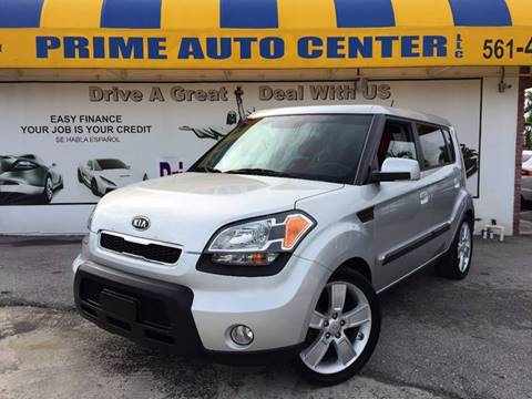 2010 Kia Soul for sale at PRIME AUTO CENTER in Palm Springs FL
