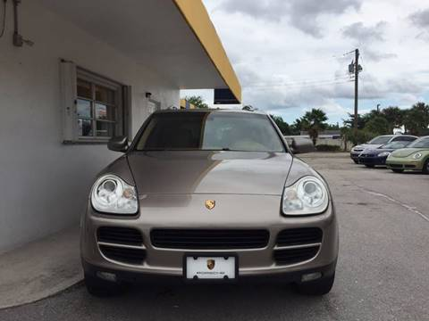 2004 Porsche Cayenne for sale at PRIME AUTO CENTER in Palm Springs FL