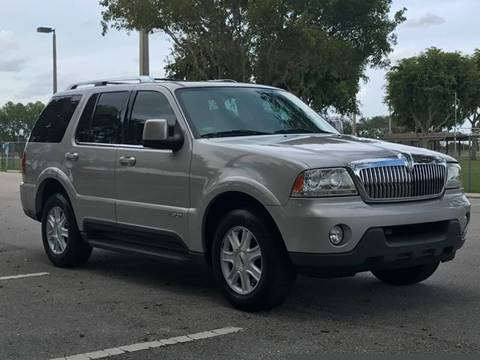 2004 Lincoln Aviator for sale at PRIME AUTO CENTER in Palm Springs FL