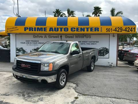 2008 GMC Sierra 1500 for sale at PRIME AUTO CENTER in Palm Springs FL