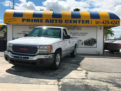2006 GMC Sierra 1500 for sale at PRIME AUTO CENTER in Palm Springs FL