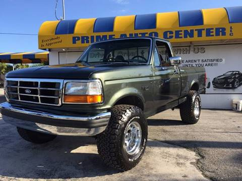 1996 Ford F-150 for sale at PRIME AUTO CENTER in Palm Springs FL