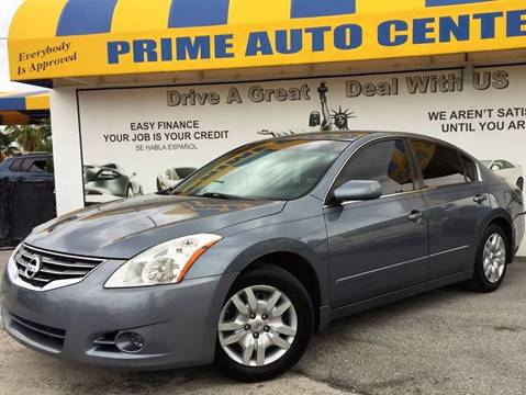 2010 Nissan Altima for sale at PRIME AUTO CENTER in Palm Springs FL