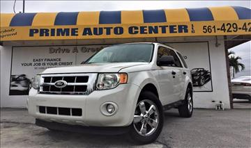 2010 Ford Escape for sale at PRIME AUTO CENTER in Palm Springs FL