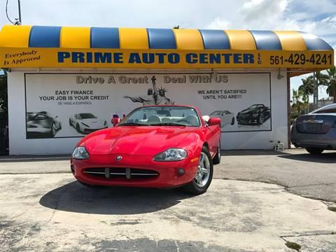 1999 Jaguar XK-Series for sale at PRIME AUTO CENTER in Palm Springs FL