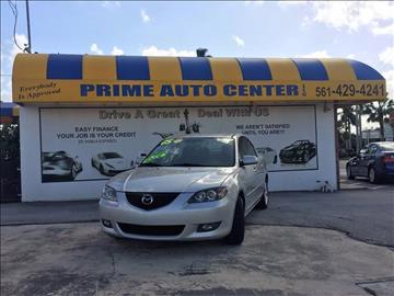 2005 Mazda MAZDA3 for sale at PRIME AUTO CENTER in Palm Springs FL