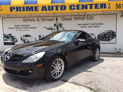 2007 Mercedes-Benz SLK for sale at PRIME AUTO CENTER in Palm Springs FL