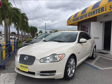 2009 Jaguar XF for sale at PRIME AUTO CENTER in Palm Springs FL