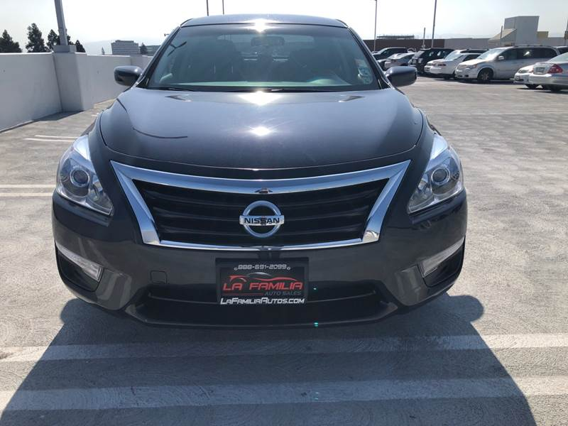 2015 Nissan Altima For Sale At La Familia Auto Sales In San Jose CA