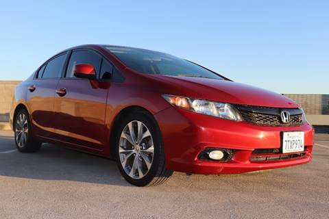 2012 Honda Civic for sale at La Familia Auto Sales in San Jose CA