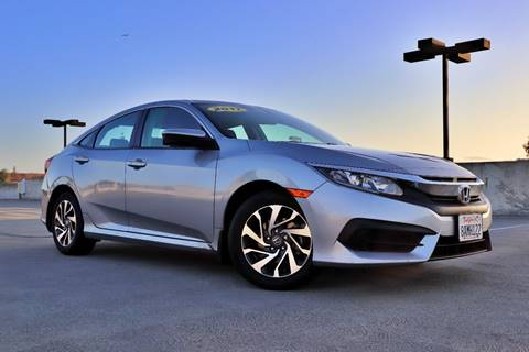 2017 Honda Civic for sale at La Familia Auto Sales in San Jose CA