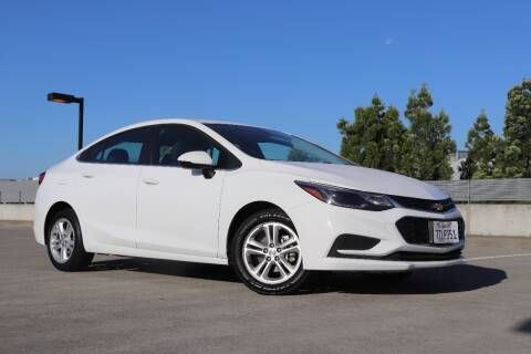 2018 Chevrolet Cruze for sale at La Familia Auto Sales in San Jose CA