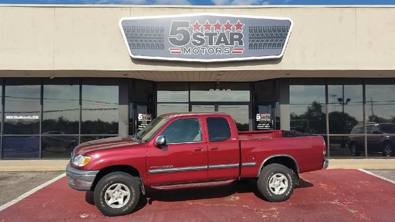 2000 Toyota Tundra 4dr Sr5 V8 4wd Extended Cab Sb In