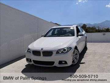 2016 BMW 5 Series for sale in Palm Springs, CA